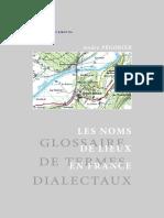 Pegorier. LES NOMS DE LIEUX EN FRANCE Glossaire de termes dialectaux.pdf