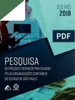 Pesquisa Precos Servicos 2018