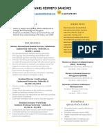 daniel restrepo resume pdf