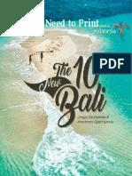 The 10 New Bali