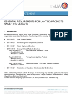 LIA TS32 - Essential Requirements for Lighting Products Under the CE Mark (v3)