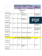 Scheme of Work Form 2 English -2019
