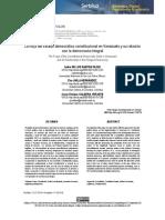 La forja del Estado Democrático Constitucional en Venezuela y su relación con la Democracia Integral - Jesús Caldera Ynfante PhD., et. al -