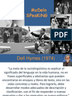 Modelo Speaking, Hymes