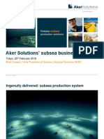 Aker Solutions' Subsea Business