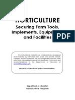 Securing Farm Tools