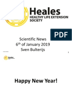 Scientific News 6th of January 2019
