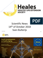 Heales Scientific News 7th of October 2018