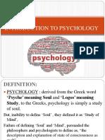 3.1 Basic Psychology