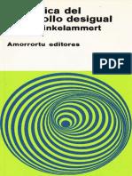 Hinkelammert Franz, Dialéctica Del Desarrollo Desigual