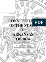Arkansas Constitution 1874