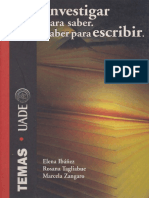 Ibáñez Elena ,Investigar para saber. Saber para escribir.pdf