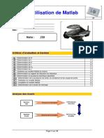 Tp Presentation Matlab Eleve