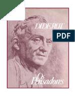 Diderot - Carta sobre os cegos para o uso dos que vêem