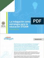 La indagación como estrategia para la educación STEAM
