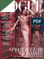 British Vogue - 11 2018