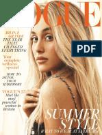 British Vogue - July 2018