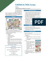 Aventureros Al Tren - Europa - Reglas en Espanol a La JcK