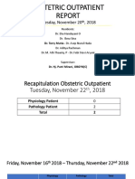 Obstetric Outpatient Report Mut 22.11.18