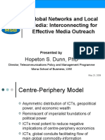 Global Context and Networks- Reaching Out