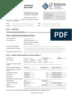 Binding Project Desc Form