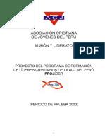Proyecto PROLIDER-Revisado por Máximo 2000.doc