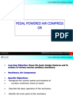 Pedal Powerd Air-l Compressor