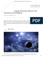 10 Mind-Blowing Theories About the Universe and Reality - Listverse