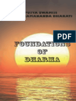 Foundations of Dharma Swami Paramananda Bharati_text