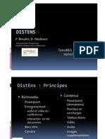 2008 - Présentation DistEns