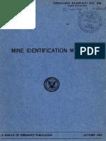 OP 831 Ordnance Pamphlet 831 Depth Charge Projector Mark 6 Mod 1 and Mod 2 USA 1944