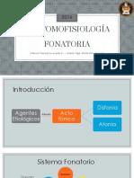 Morfología Fonatoria