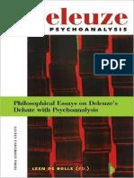 (Figures of the Unconscious 9) Leen De Bolle (Editor)-Deleuze and Psychoanalysis_ Philosophical Essays on Delueze's Debate with Psychoanalysis (Figures of the Unconscious 9)-Leuven University Press (2.pdf