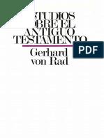 Estudios sobre el Antiguo Testamento (von Rad - 1976).pdf