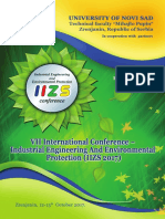 VII International Conference. Industrial Engineeering and Environmental Protection (IIZS 2017)