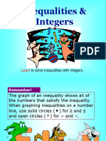 Two-Step Inequalities and Integers
