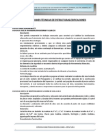 Especificaciones Tecnicas Estructurasc Edificaciones