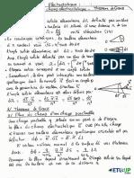 Cours flux du champ électrostatique + théorème de Gauss By Ray