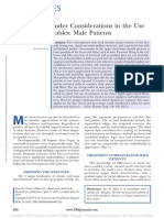 Ethnic and Gender Considerations in the Use of Facial Injectables