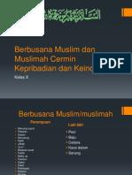 Berbusana Muslim Dan Muslimah Cermin Kepribadian Dan Keindahan