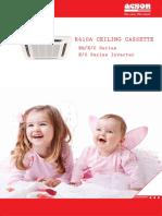 Acson Catalogue ~ R410A Ceiling Cassette Series (1203)_0
