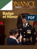 Ordnance Magazine - Badge of Honor - Spring 2017
