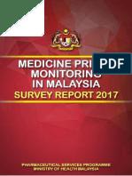 Medicine Price Monitoring Malaysia 2017
