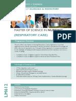 Respiratory Care Flyer