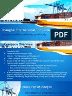 Shanghai Port International - Company Analysis