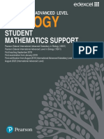 Biology Student Mathematics Support Guide