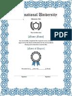 College Degree Fake Certificate 7