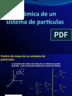 Dinamica de un Sistema de Partículas