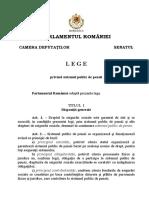 LEGE Nr. 263 Din 16 Decembrie 2010 (Forma Consolidată La 10.09.2018)