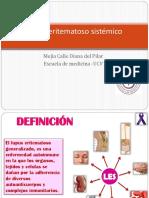 DIANA MEJIA CALLE-Lupus Eritematoso Sistémico